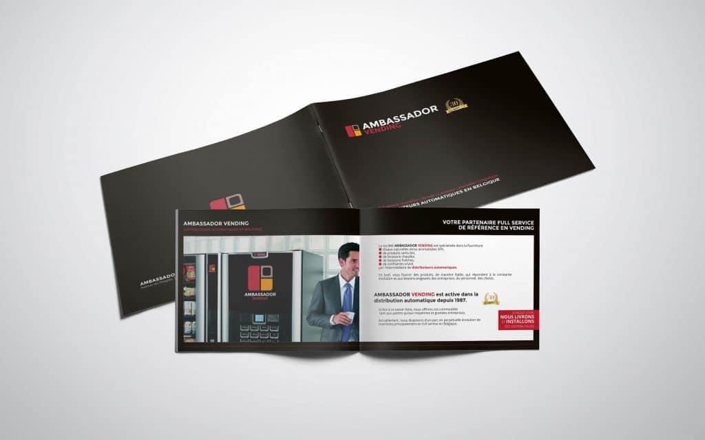 creation plaquette commerciale ambassador