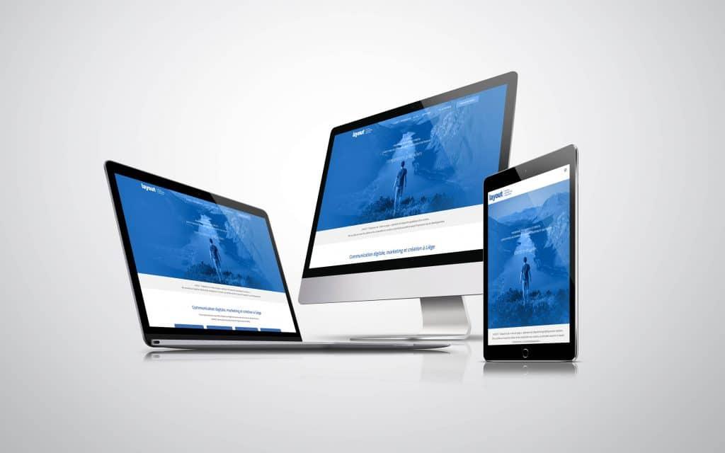 creation site internet layout
