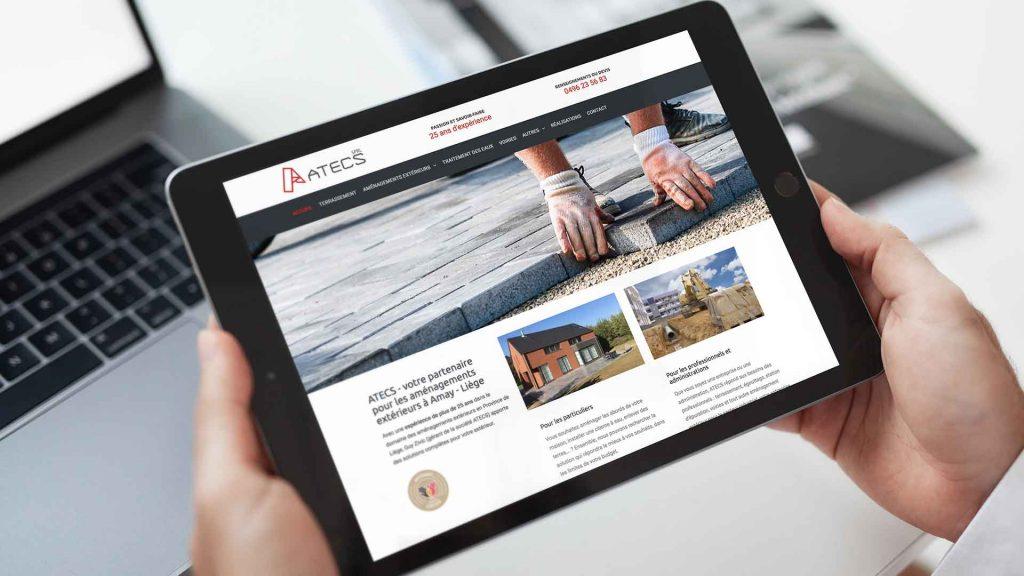 creation site web atecs amay huy